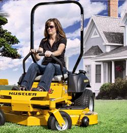 Hustler super z lawn mower indiana dealer